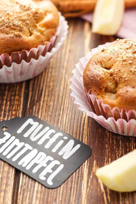 Apfel Zimt Muffins einfach backen