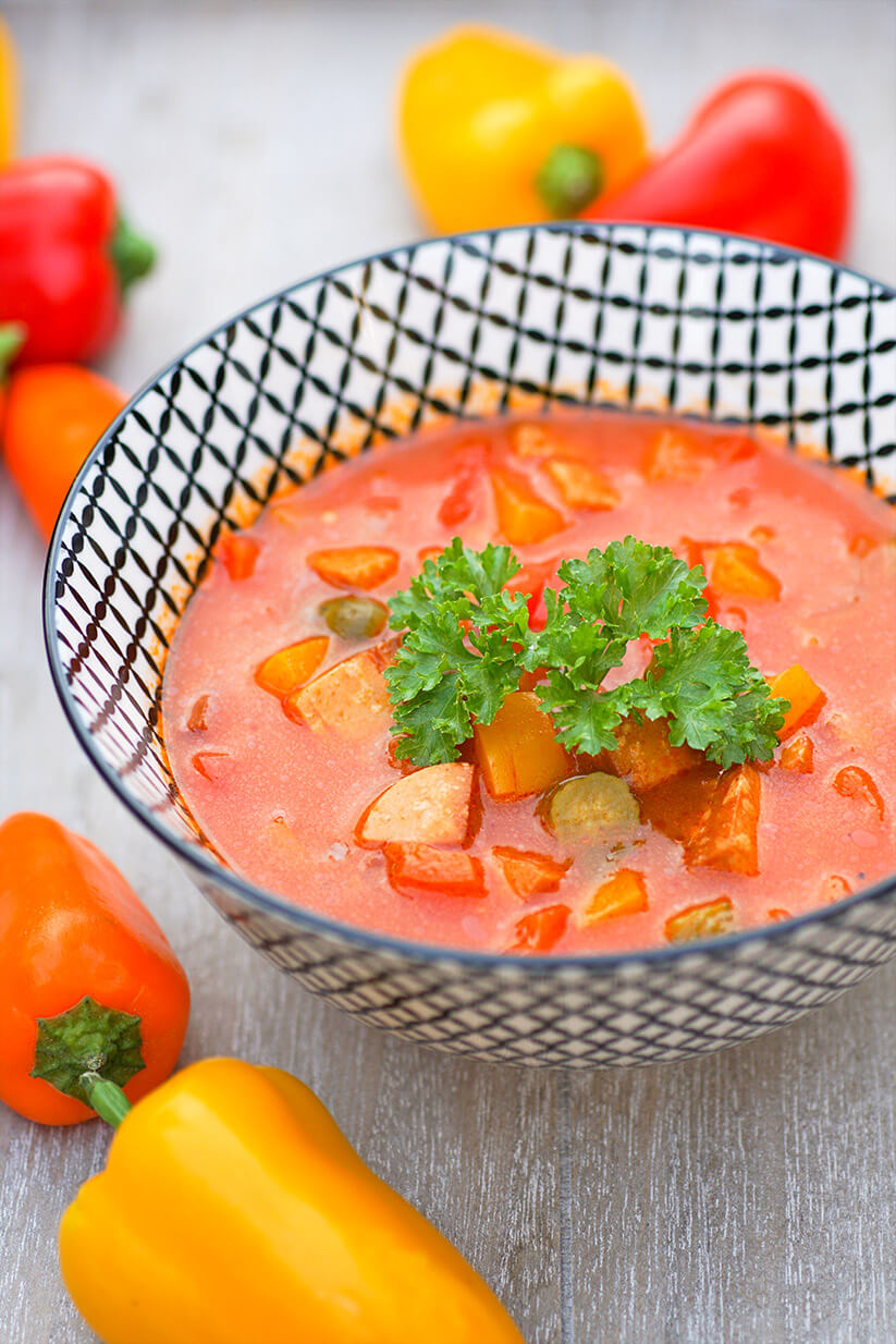 Soljanka mit Tofu Rezept