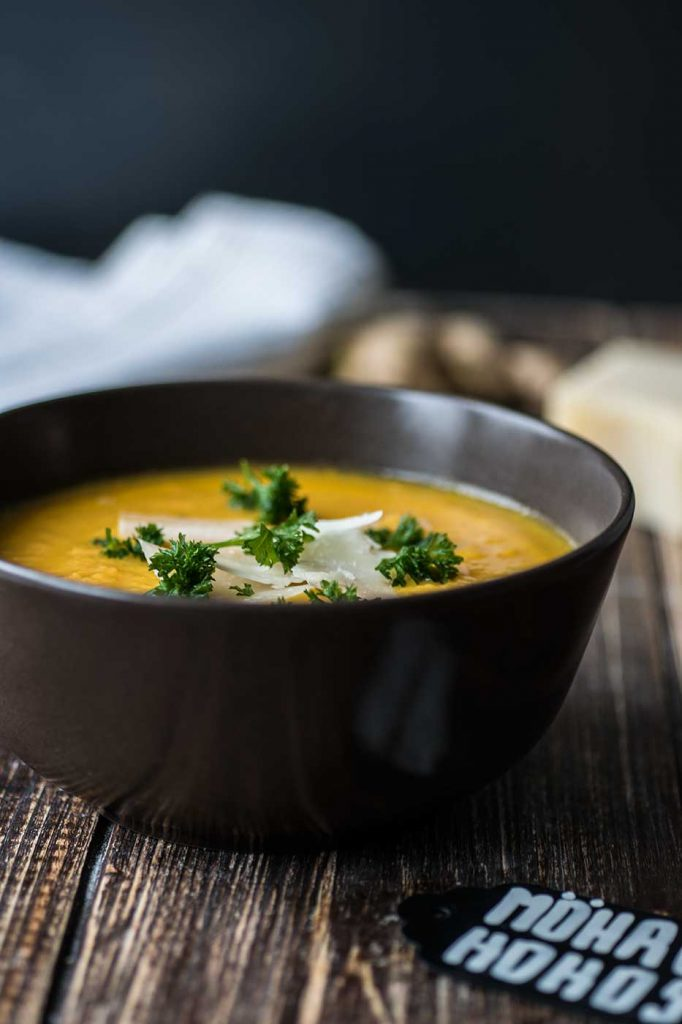 Karotten-Ingwer Suppe selber zubereiten