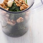 Zutaten für Pesto vorm pürieren