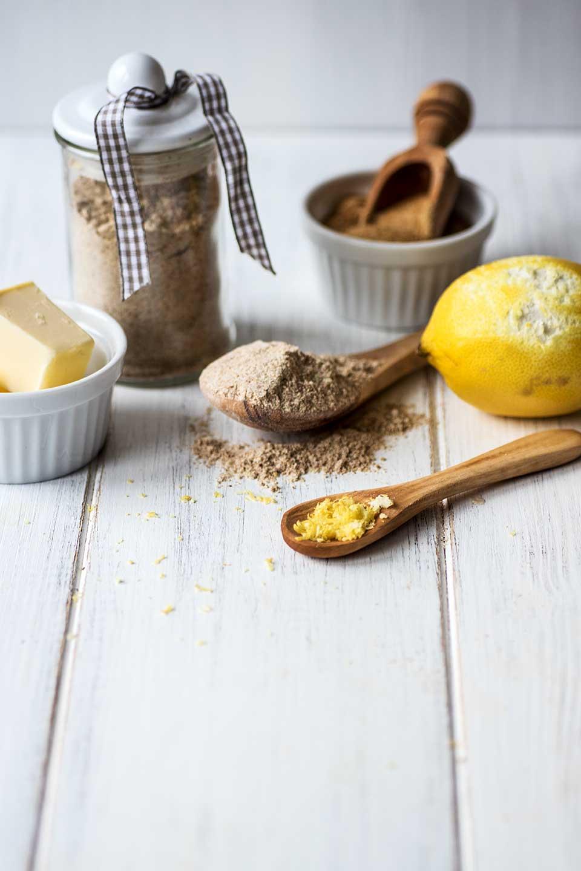 Zutaten für Braunhirse Plätzchen Rezept