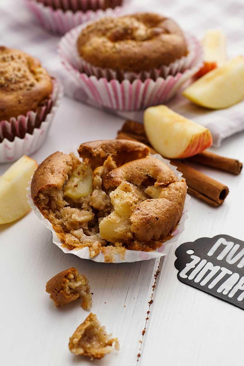 Apfel Zimt Muffins schnell zubereiten
