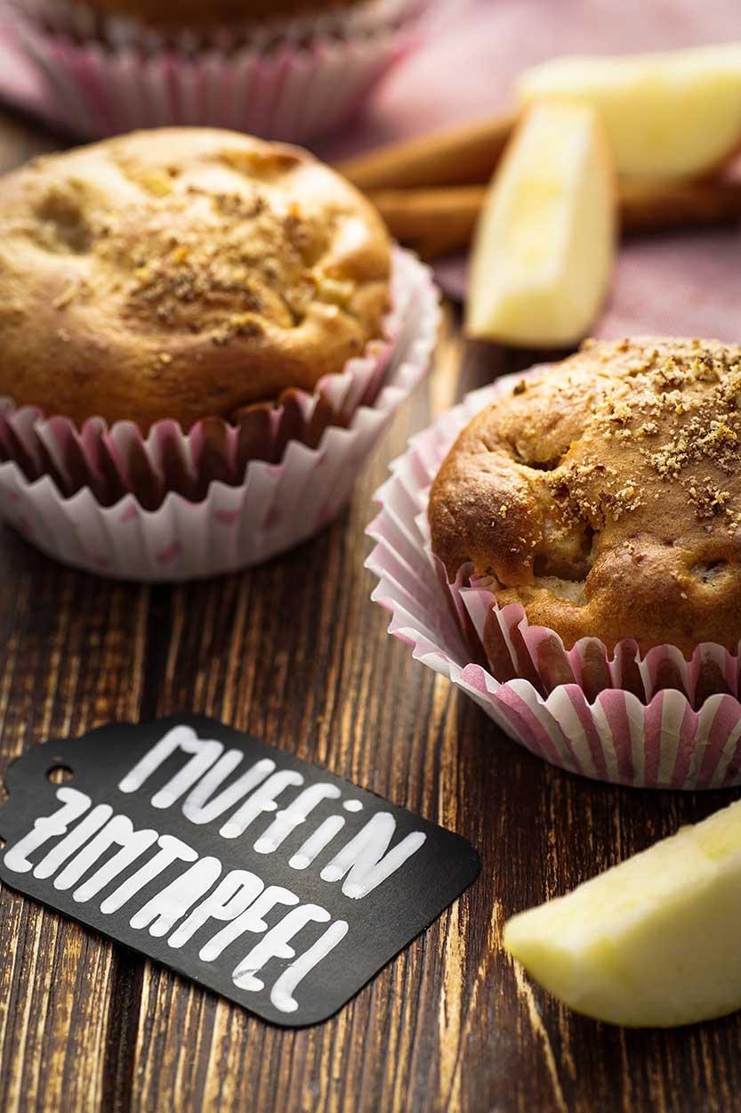 Apfel Zimt Muffins Zubereitung