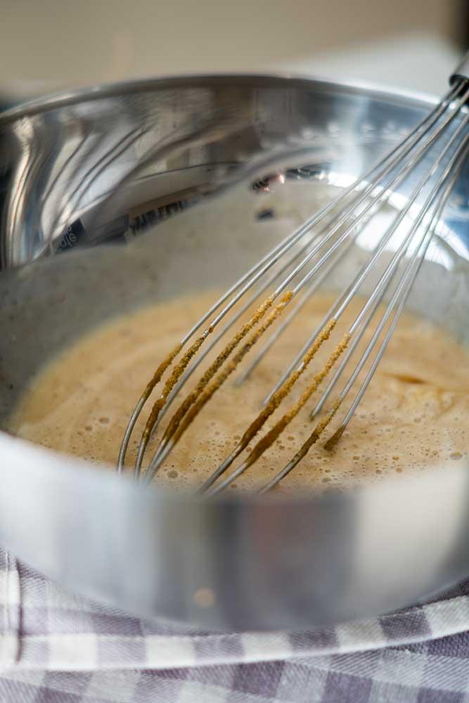 Zubereitung von Muffinteig
