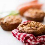 Muffin mit Karotte und Kokos