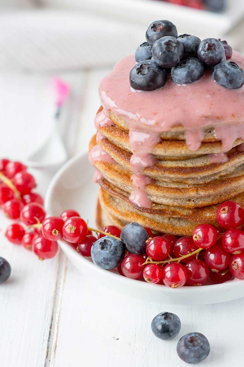 Pancakes aus Buchweizenmehl selber machen