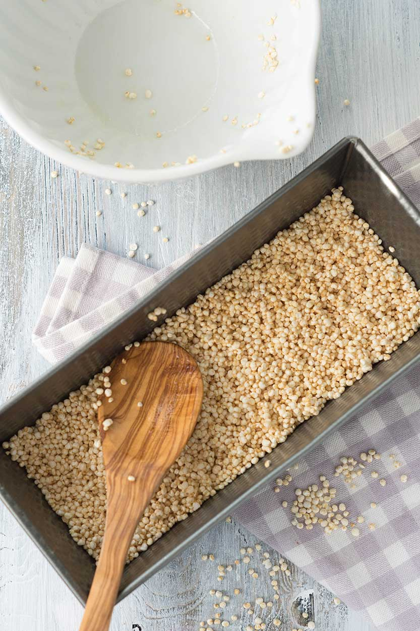 quinoariegel selber machen rezept auf foodlikers. Black Bedroom Furniture Sets. Home Design Ideas