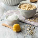 Quinoariegel Zutaten Kokosöl Honig gepuffter Quinoa