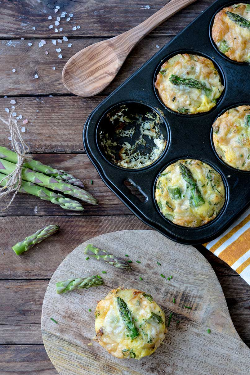 frittata mit gr nem spargel rezept auf foodlikers. Black Bedroom Furniture Sets. Home Design Ideas