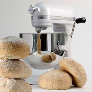 Brotteig kneten mit der KitchenAid Küchenmaschine