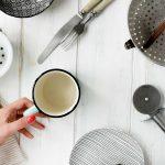 Küchenhelfer für Kochrezepte