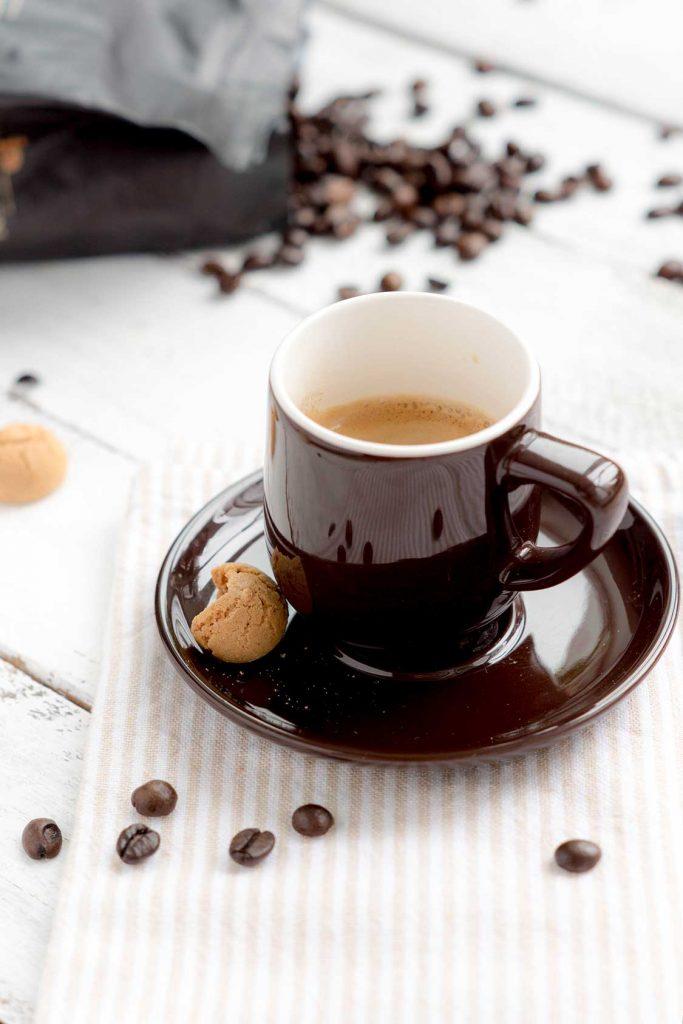 Espresso in einer Tasse