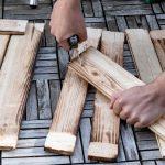 Vintage Holzuntergrund im rustikalen Used-Look selber machen (2/3)