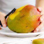 Mango schälen