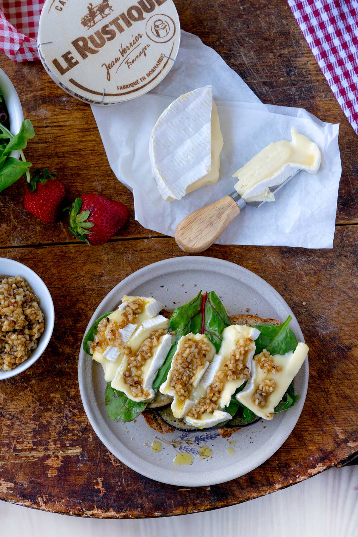 how to cook le rustique camembert