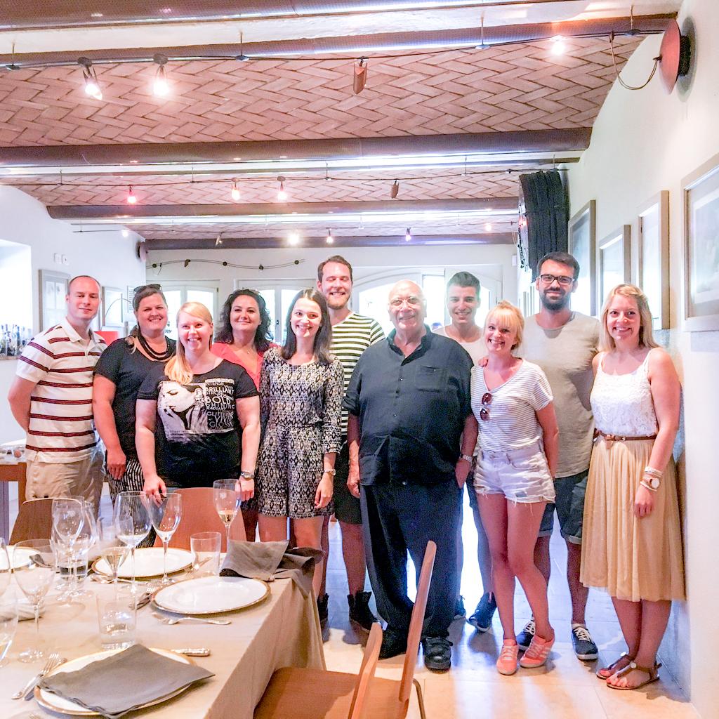Gruppenbild Rana Besuch