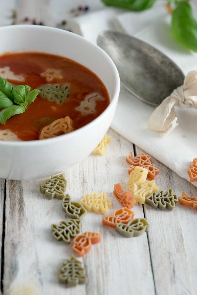 tomatensuppe selber machen rezept mit basilikum