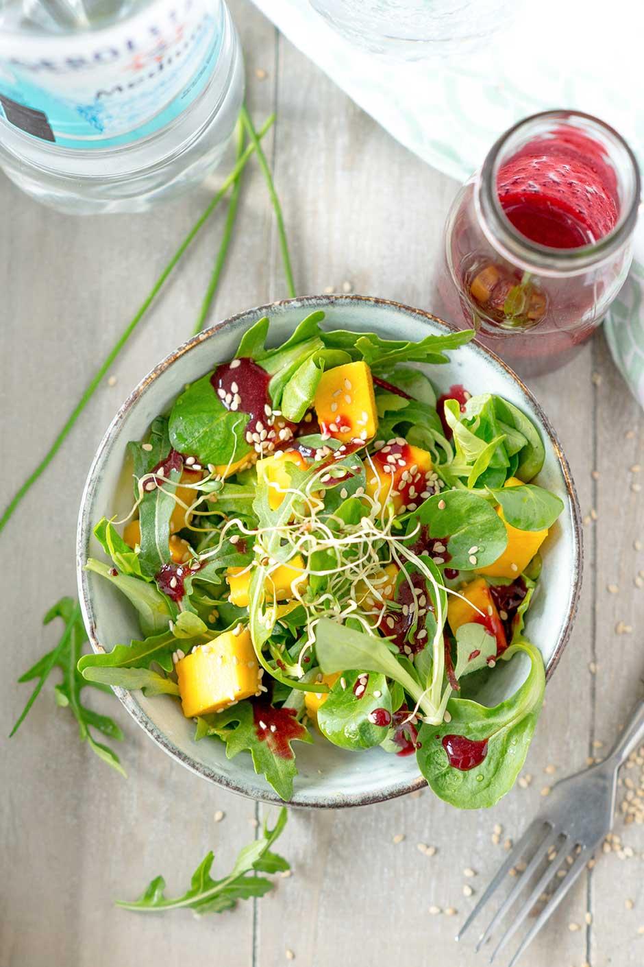 Grüner Salat in einer Schüssel