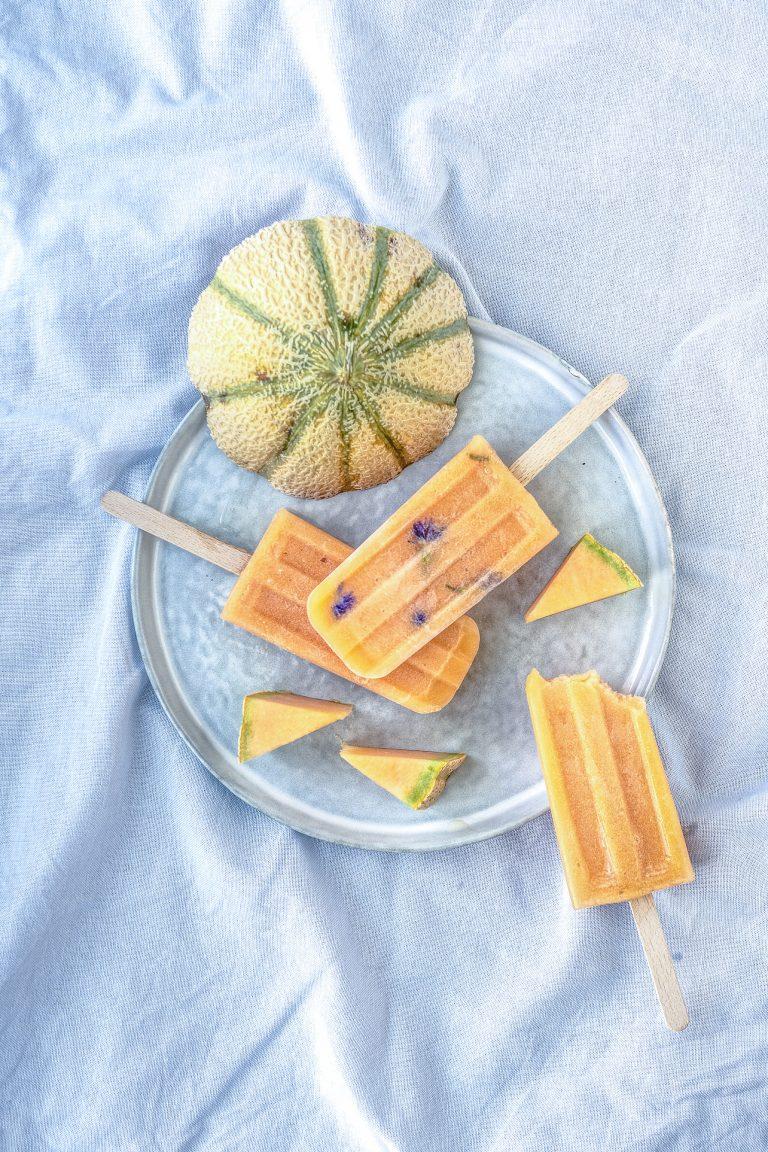 Meloneneis am Stiel