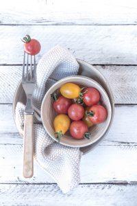Tomaten in einer Schüssel