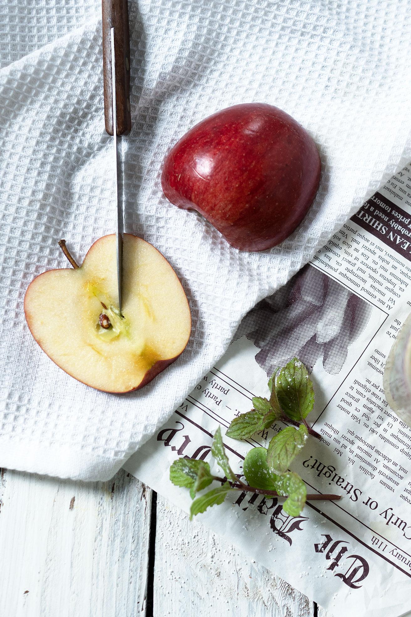 Geschnittener Apfel