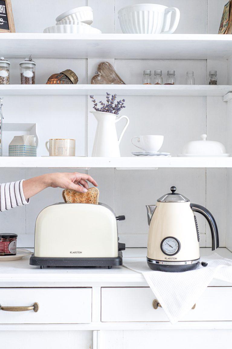 Toast für das Frühstück ist fertig