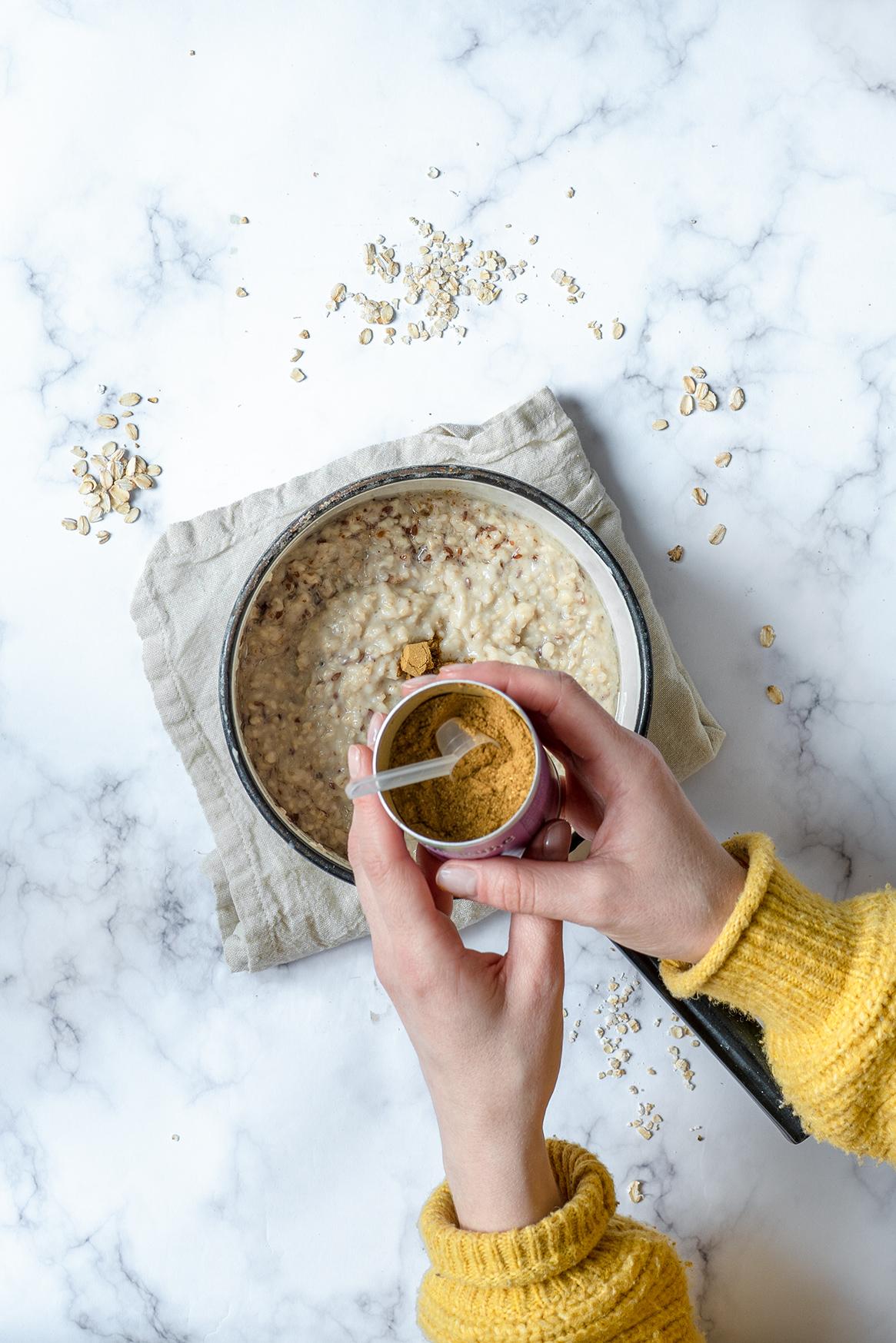 Gewürzmischung für den Porridge